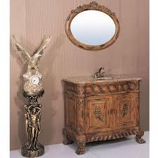 405 inch single sink bathroom vanity with brass sink uvlf0018pr40