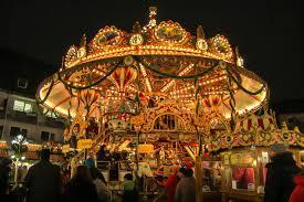 christmas carousel christmas carousel germany editorial image image 47898775