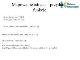 map of the htons systemy rozproszone w bartkiewicz ppt pobierz