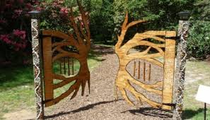 wood garden gate plans u2013 home design and decorating