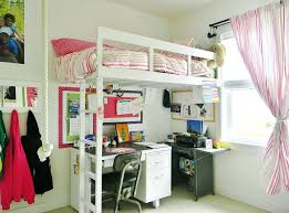 Full Size Bed With Desk Under Wardrobes Kids Bunk Bed With Wardrobe And Ladder Wooden Loft Bed