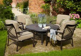 Patio Dining Set With Fire Pit - hartman jamie oliver fire pit set metal garden furniture hayes
