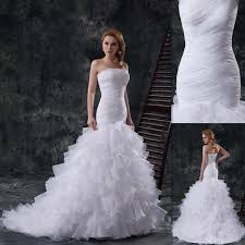 preowned wedding dresses uk wholesale preowned wedding dresses corset uk mermaid white organza