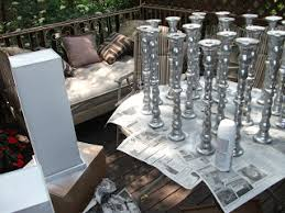 haraldsen diy diy wedding centerpieces she used 6 inch silver
