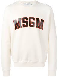 msgm men clothing sweatshirts on sale for cheap price msgm men