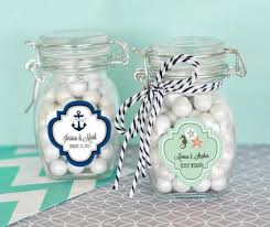 jar favors personalized jar wedding favors