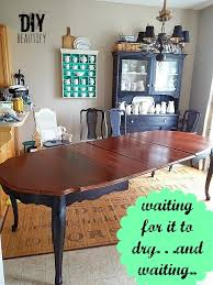 Dining Room Table Refinishing Refinishing A Dining Table Diy Beautify