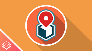 map logo inkscape for beginners flat style map marker location logo