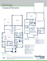Home Plans Utah Brilliant Fieldstone Homes Floor Plans Bacuku