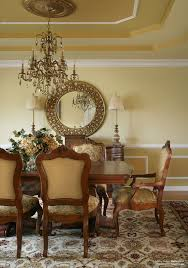 Dining Room Wall Ideas Dining Room Carved Frame Circle Mirror Dining Room Wall Decor
