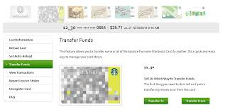 starbuck gift cards consolidate starbucks gift cards to save wallet space points