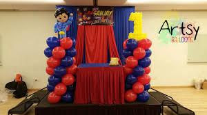 Superman Birthday Party Decoration Ideas Balloon Number 1 Singapore Balloon Decoration Services Balloon