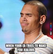 Ex Memes - when your ex tries to make you jealous funny pinterest jealous