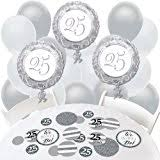 25th Wedding Anniversary Table Centerpieces by Amazon Com 25th Anniversary Centerpiece Party Accessory 1 Count