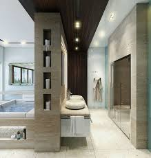 Posh Luxury Bath Rug Modern Luxury Bathroom With Stoned Walls Ideas 47