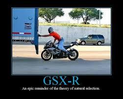 Funny Motorcycle Meme - gixxer motor pinterest captions