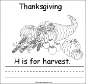 thanksgiving is for book for early readers enchantedlearning