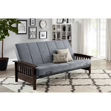 Mission Style Futon Couch Better Homes And Gardens Mission Wood Arm Futon Multiple Colors