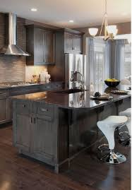 gray stained kitchen cupboards 25 ways to style grey kitchen cabinets