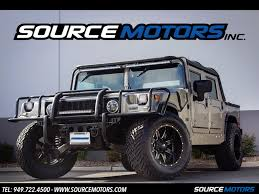 jeep open top 2003 hummer h1 open top for sale in orange county ca stock 10471