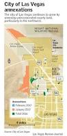 Crime Map Las Vegas by Annexations Grow Las Vegas City Boundaries U2013 Las Vegas Review Journal