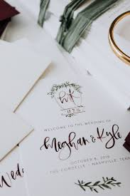 fall wedding programs fall inspired wedding stationery meghan kyle s day of items