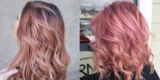 trend colors rose gold hair is the latest hair color trend 12 pink hair shades