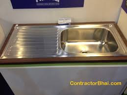 Sinks  ContractorBhai - Stainless steel kitchen sinks cheap
