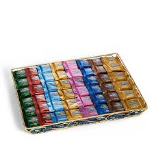 ghirardelli gift basket ultimate squares gift basket with assorted squares 120 pc