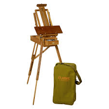jullian classic french style sketch box easel hayneedle