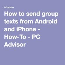 how to send from android to iphone how to send texts from android and iphone how to pc