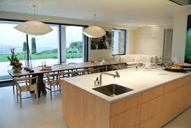 amenagement ilot central cuisine idée cuisine avec ilot central inspirations avec chambre idee