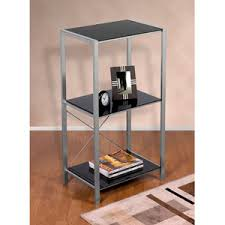 Mainstays Glass Top Desk by Cheap Chrome Glass Bookcase Find Chrome Glass Bookcase Deals On