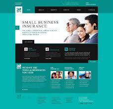Credit Card Design Template Website Template 46270 Insurance Company Agency Custom Website
