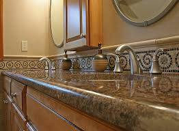 bathroom countertop tile ideas small bathroom remodeling fairfax burke manassas remodel pictures
