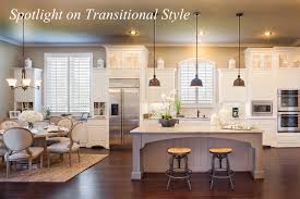 spotlight on transitional style around the house around the house