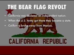 California State Flag Clancy Tucker U0027s Blog 13 March 2017 The Bear Flag Revolt