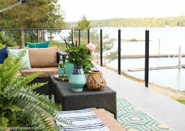 our new cozy outdoor living room tour deck reveal part one pretty sure we ll be using our new cozy outdoor living room a ton this late spring and summer and well into the fall if you re looking for some beautiful