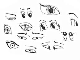 drawing eyes for kids animal cartoon eyes 5 drawing art gallery