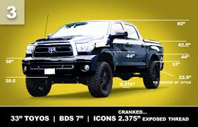 leveling kit for 2014 toyota tundra toyota tundra lift height visual guide tundra headquarters