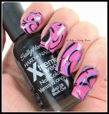 watermarble nail art decals lazy betty