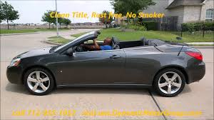 gallery of pontiac g6 convertible