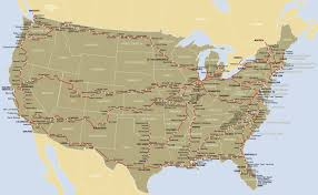 Iberia Route Map by Runs On Amtrak Routes