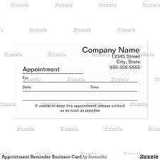 appointment business card template gallery free business cards