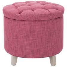 Pink Storage Ottoman Tufted Pink Storage Ottoman Pier 1 Imports