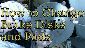 how to change brake disks and pads on a ford fiesta zetec s