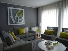 Lovely Grey And Green Living Rooms Living Room Grey Grey - Simple interior design living room
