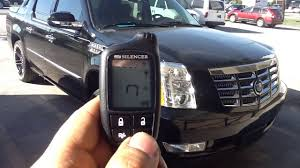 remote cadillac escalade 2007 2013 cadillac escalade remote start alarm pager