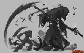joemadart com darksiders 2 death reaper form classic concept art