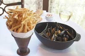 cuisine au safran bouchon on moules au safran maine bouchot mussels steamed